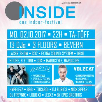 INSIDE. Das Indoor-Festival 5.0