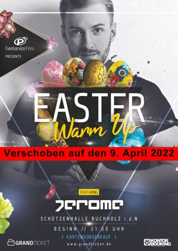 Easter Warm Up 2022 mit DJ Jerome