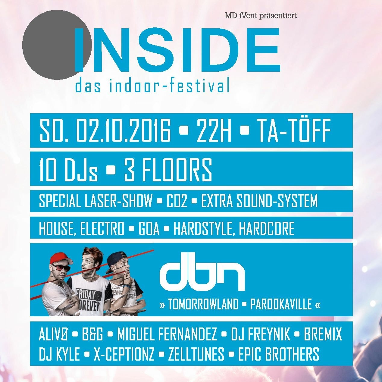 INSIDE. Das Indoor-Festival 3.0