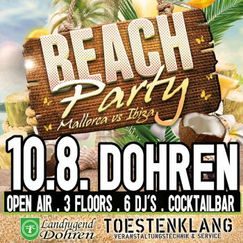 Beachparty Dohren 2019