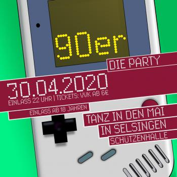 Tanz in den Mai 2020 // 90er DIE PARTY