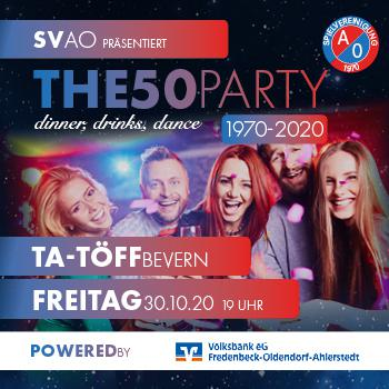 SV A/O präsentiert THE50PARTY