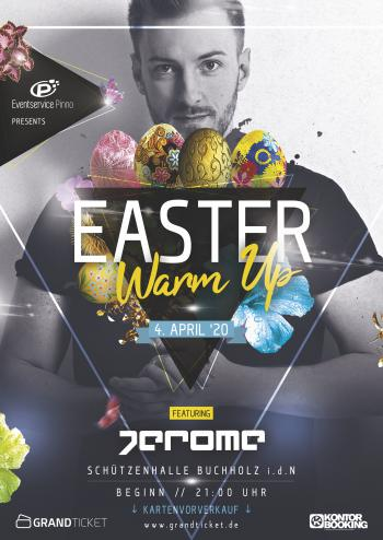 Easter Warm Up mit DJ Jerome
